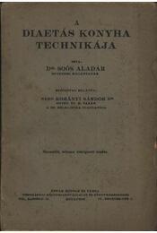 A diaetás konyha technikája - Régikönyvek