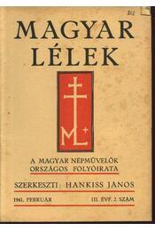 Magyar Lélek 1941. február - Régikönyvek