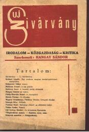 Uj Szivárvány - I. évfolyam, 1. (21.) szám - Régikönyvek