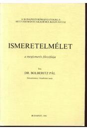Ismeretelmélet - Régikönyvek