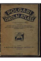 Polgári Iskolai Atlasz - Régikönyvek