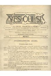 Yes-oui-si 23. - Régikönyvek
