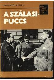 A Szálasi puccs - Régikönyvek