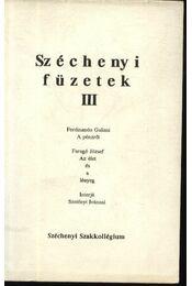 Széchenyi füzetek III. - Régikönyvek