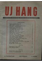Új Hang 1953/5 - Régikönyvek