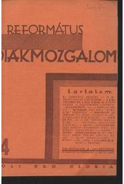 Református Diákmozgalom 1931. december - Régikönyvek