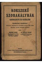 Korszerű szobakályhák szerkezete és kezelése - Ordódy János, Gyulay József dr. - Régikönyvek