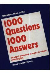 1000 Questions 1000 Answers - Régikönyvek