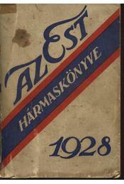 Az Est hármaskönyve 1928 - Régikönyvek