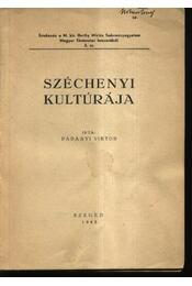 Széchenyi kultúrája - Régikönyvek
