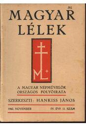 Magyar Lélek 1942. november - Régikönyvek
