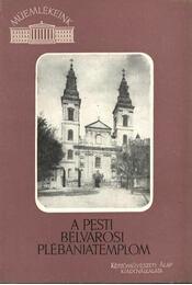 A pesti belvárosi plébániatemplom - Régikönyvek