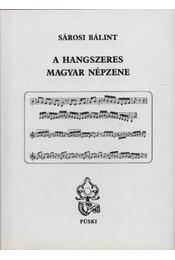 A hangszeres magyar népzene - Régikönyvek