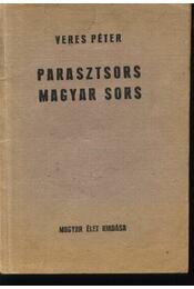 Parasztsors magyar sors - Régikönyvek