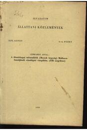 A dömörkapui mészsziklák (Mecsek hegység) Molluscafaunájának cönológiai vizsgálata (Téli aszpektus) - Régikönyvek