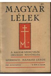 Magyar Lélek 1943. augusztus - Régikönyvek
