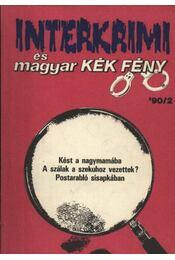Interkrimi és magyar KÉK FÉNY 1990/2. - Régikönyvek