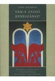 Van-e zsidó reneszánsz? - Régikönyvek