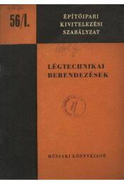 Légtechnikai berendezések - Régikönyvek
