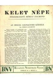 Kelet népe - VI. évfolyam 7. szám - Régikönyvek