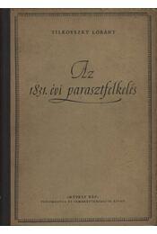 Az 1831. évi parasztfelkelés - Régikönyvek