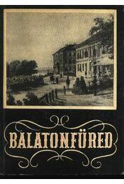 Balatonfüred - Régikönyvek