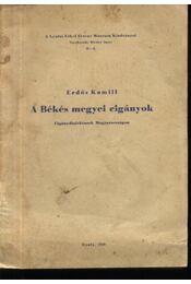 A Békés megyei cigányok - Régikönyvek