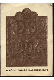 A Dóczi család kádárműhelye - Régikönyvek