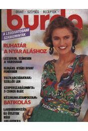 Burda 1990/6. június - Régikönyvek