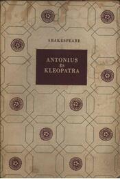 Antonius és Kleopátra - Régikönyvek