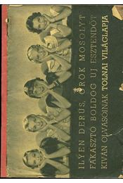 Magyar Divatcsarnok 1939 - Régikönyvek