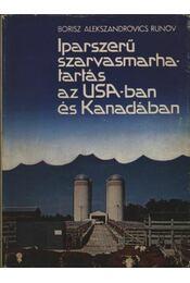 Iparszerű szarvasmarhatartás az USA-ban és Kanadában - Régikönyvek