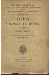 Platon válogatott művei I. kötet - Régikönyvek
