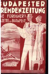 Budapesti Idegenforgalmi Újság, The forigners' gazette of Budapest, Budapester Fremdenzeitung 1934. Nr. 8. - Régikönyvek