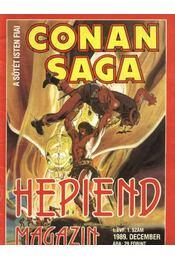 Conan Saga, A megtorló I. évf. 1. szám - Régikönyvek