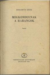 Megkondulnak a harangok I-II. kötet egyben - Régikönyvek