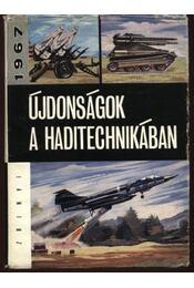 Újdonságok a haditechnikából - Régikönyvek