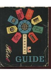 Hotel Guide - Régikönyvek