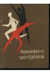 Honvédelmi sportjátékok - Régikönyvek