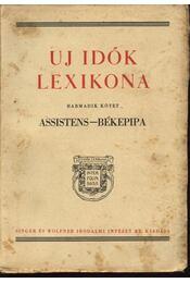 Uj idők lexikona III. kötet - Régikönyvek