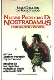 Nuevas Profecias De Nostradamus - Régikönyvek
