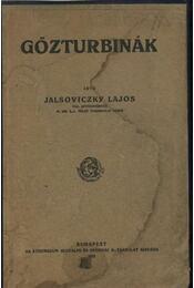 Gőzturbinák - Régikönyvek