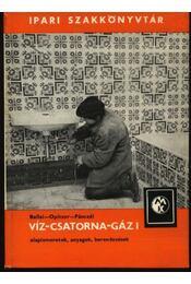 Víz-csatorna-gáz I-II. - Régikönyvek