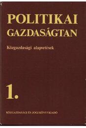 Politikai gazdaságtan 1-4. - Régikönyvek