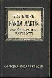 Három mártír - Régikönyvek