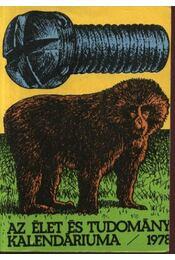 Az Élet és Tudomány kalendáriuma 1978 - Régikönyvek
