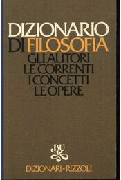 Dizionario di filosofia - Régikönyvek
