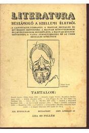 Literatura - XII. évfolyam 1937. ápr. 15. - Régikönyvek