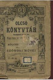 Kölcsey Ferencz válogatott szónoki művei - Régikönyvek