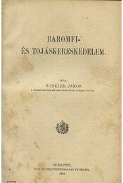 Baromfi- és tojáskereskedelem - Régikönyvek